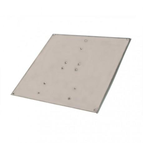 Plaque aluminium pour plateau chauffant MK2
