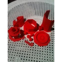pieces 3D Scanner CowTech