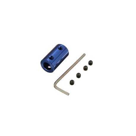 coupleur aluminium bleu